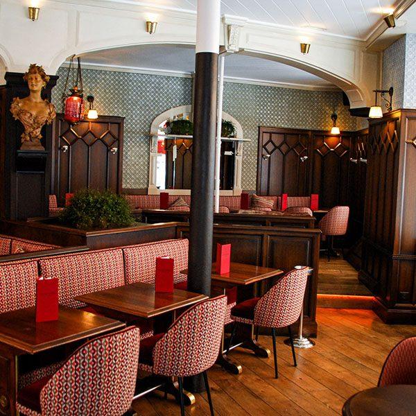 salle intérieur café Raspail Paris