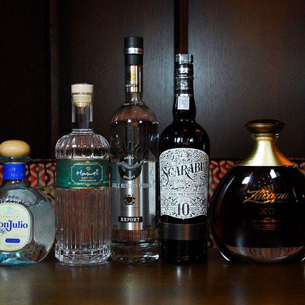 sélection alcools café Raspail Paris