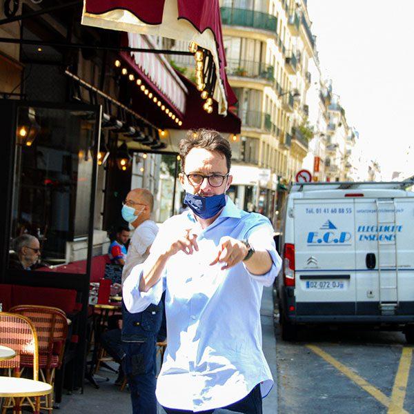 serveur café Raspail Paris